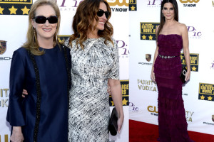 Bullock, Streep i Roberts na Critics Choice Movie Awards! (ZDJĘCIA)