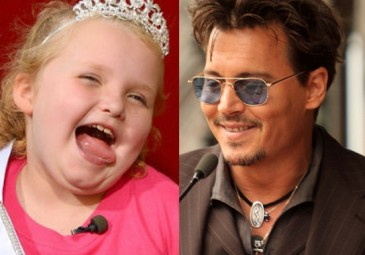 Johnny Deep UWIELBIA Honey Boo-Boo!