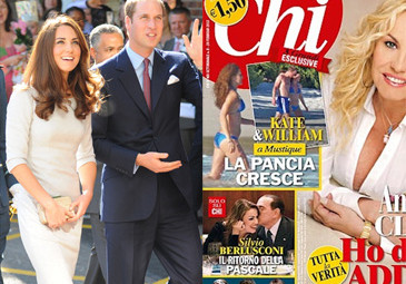 Tabloid pokazał Kate Middleton W CIĄŻY W BIKINI!
