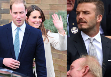 Beckham: Kate i William powinni nazwać syna David!
