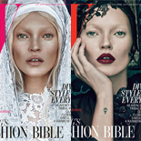 Kate Moss z krzyżem i aureolą!